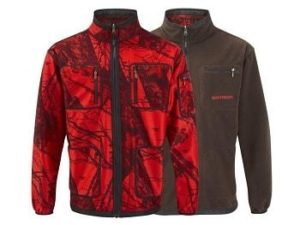 Shooterking Mossy Red Softshell Jagd Wendejacke