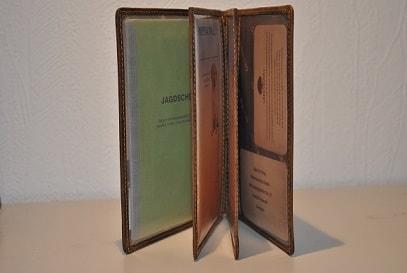 Jagd Etui Mappe Greenburry Vintage