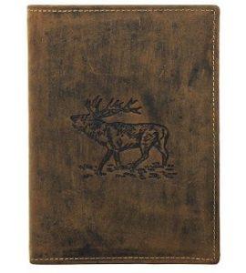 Jagdscheinetui aus Antikleder