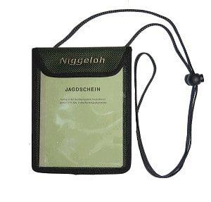 Niggeloh Jagdscheintasche, grün, 021100026
