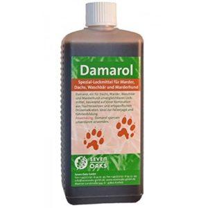 Seven Oaks Damarol Lockmittel 50 ml für Marder, Dachs, Waschbär und Marderhund Lockstoff mit natürlichen Inhaltsstoffen
